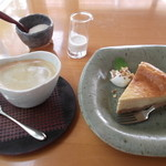 風の扉 - チーズケーキ&珈琲
