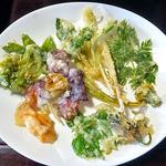 12957544 - 早春のつみ草と山菜の天ぷら(2012年5月)