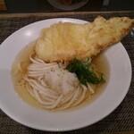 麺屋 坂本01 - 鶏天ぶっかけ(冷)