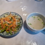 12958089 - サラダ、スープ