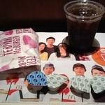 マクドナルド - 2012/05 プレミアムローストアイスコーヒー(S) 140円とケイタイクーポンでてりやきマックバーガー 150円