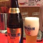 博多ラーメン ガツン - 【再訪】ビール