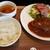 ヤマダデリ - ハンバーグ定食(デミグラスソース)