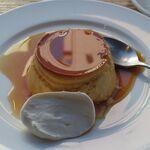 TRITON CAFE - プレミアム卵の焼きプリン