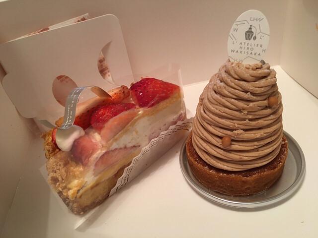 ラトリエ ヒロ ワキサカ 焼き 菓子