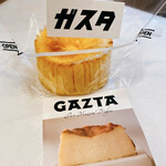 GAZTA - バスクチーズケーキ(1個:760円)