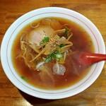 中華料理 山水 - 料理写真:ワンコインらーめん(500円)