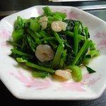丸玉食堂 - 炒青菜(青野菜の炒め物)¥600