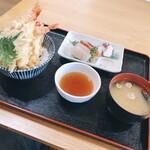 えいと食堂 - 料理写真:海老天丼定食