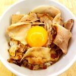 麺や 鳥の鶏次 - [テイクアウト]肉玉丼410円