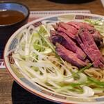 ラーメン246亭 - 料理写真:ローストビーフつけそば