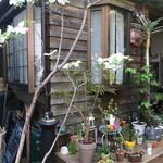 HanaCAFE nappa69 - 外観 古民家カフェ お花も色々