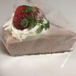 HanaCAFE nappa69 - 【苺のチーズケーキ】