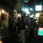 pitou - 2009/3月:当店周辺のゴールデン街の風景