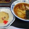 正太郎 - 料理写真:中華そば600円ネギ抜き、半チャーハン280円ネギ抜き