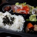 魚の - 料理写真:ローストビーフ弁当(600円)