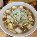 大木 - 豚バラ白菜タンメン