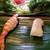 健寿司 - 料理写真:車海老・カレイ。