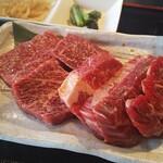 焼肉・てっちゃん鍋 銀衛見 - 焼肉ランチ 肉増量
