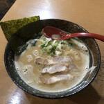 大岩亭 - 大岩ラーメン スープはこってりを選択