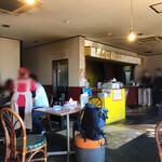 大岩亭 - 内観 湯切りの際は撮影会が始まります。笑