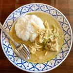 ライカノ - 鶏肉のグリーンカレー