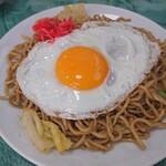 立花屋 - 料理写真:玉子入りやきそば(小)