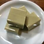 入福 - かにみそ豆腐です。