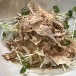入福 - 新玉ねぎサラダです。
