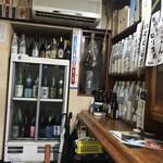 入福 - お酒たくさんあります。