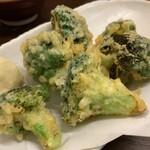 美味物問屋 うれしたのし屋 - ブロッコリー天ぷら
