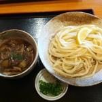 手打ちうどん 橙家 - 橙家 肉汁付けうどん(中)