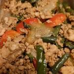 ケーラン - 料理写真:バジル炒め(だったかな)