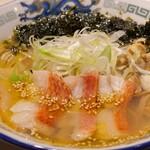 波市 - 炙り金目鯛の塩ラーメン ガリサバ飯セット