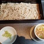 三國家 - きざみ鴨せいろ(一合)(950円)
