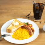 CAFE EST - スクランブルセット(モーニング)
