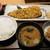 土鍋炊ごはん なかよし - サバの木の芽若葉焼き定食1,000円