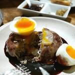 炭ビストロ コショネキッチン - 赤城牛と加藤ポークの極上ハンバーグ200g