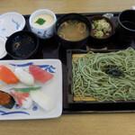 和食レストランとんでん - ランチにぎり鮨・そば