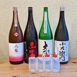 日本酒バルどろん - 自宅で楽しめる利き酒セット
