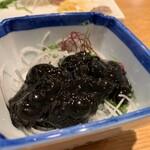 海幸山幸 越中茶屋 - ほたるいかの黒作り