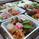 御殿當田屋 - 幕の内弁当(2,000円クラス)