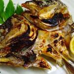 漁や - 真鯛兜焼き
