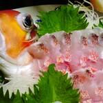 漁や - 甘鯛姿造り