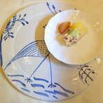 プティ シャルトルーズ - デザートの盛り付け
