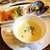 プティ シャルトルーズ - スープには生クリームがたっぷり使われる。古き良きフレンチを思わせる