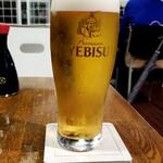 茜草壺 - 生ビール
