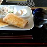 箸折茶屋 - 料理写真:モーニング 税込400円