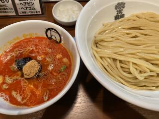 紋次郎 梅田第2ビル店 - 辛つけ麺