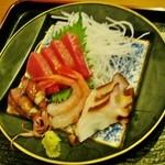 銀山茶屋 - 「お刺身」です